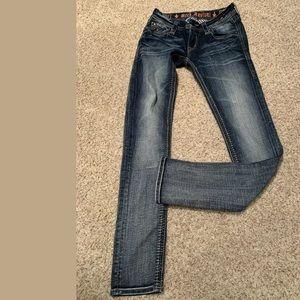 New miss me flap pocket bootcut jeans Sz 28